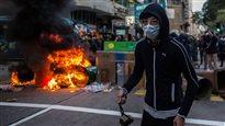 Nouvel an lunaire : une manifestation dégénère dans les rues de Hong Kong