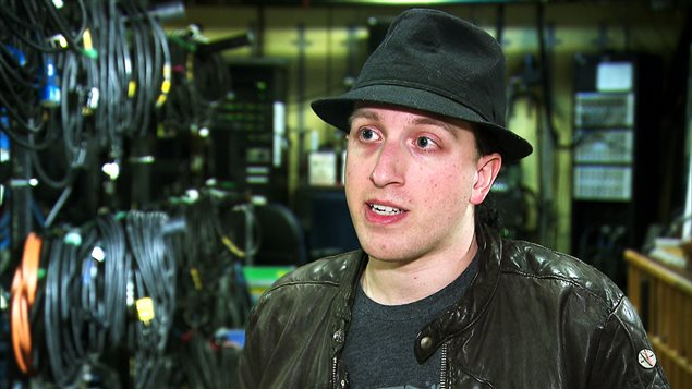 Alex Martel, président fondateur de l'Amnesia Rockfest de Montebello