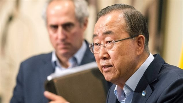 United Nations Secretary General Ban Ki-moon is expected to respond this month to a report on sexual abuse by peacekeepers in the Central African Republic.