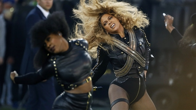 Beyoncé au 50e Super Bowl