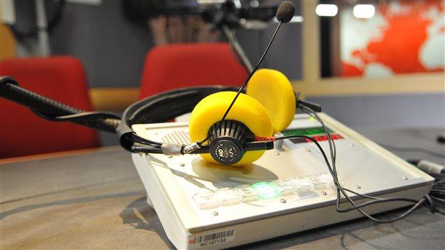 Int�rieur du studio 91 de Radio-Canada � Montr�al