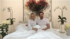 Edith Betkowski et son mari, l'artiste, Dominik Sokolowski, font un « bed in » ces jours-ci à la Galerie Alpha Art à Ottawa