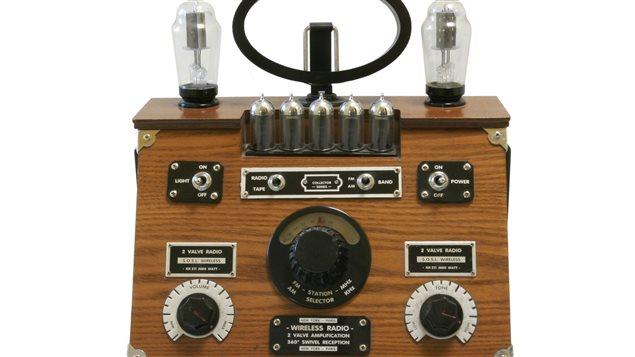 Un des premiers modèles de récepteurs de radio