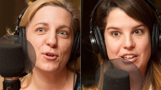 Élyse Marois et Sara Mathieu-Chartier