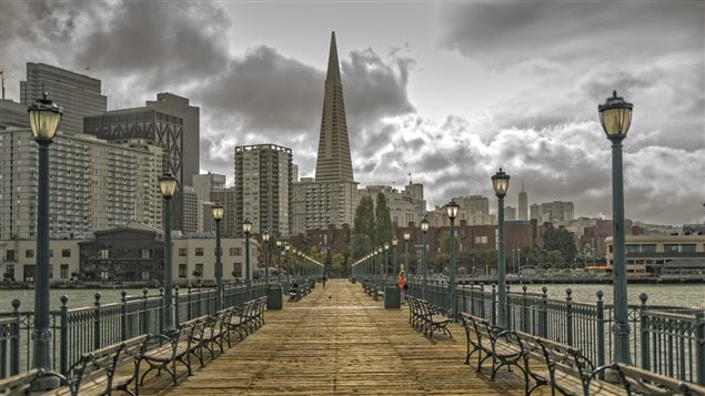 Un quai piétonnier à San Francisco : iStock