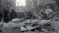 La Russie, priée d'arrêter de bombarder Alep, propose un cessez-le-feu en mars
