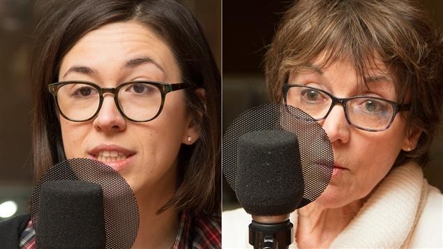 Aur�lie Lanct�t et Francine Pelletier