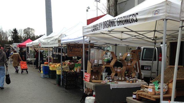 Le marché fermier d'hiver de Vancouver