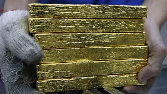 Canada moved off the gold standard in 1929. And some analysts say the Bank of Canada doesn't need to hold reserves of gold because the country has so much gold *in the ground*. Canada now has just a little over a tonne and a half of gold left in its vaults.