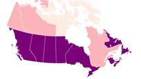 Union libre ou mariage? La réponse en carte