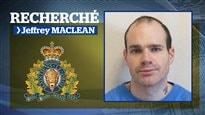 Chasse à l'homme au N.-B.: Jeffrey MacLean est recherché