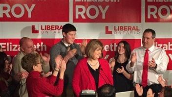 La candidate libérale dans Whitby-Oshawa, Elizabeth Roy.