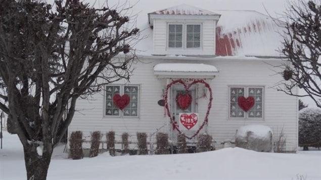 Une maison de Saint-Valentin, en Montérégie