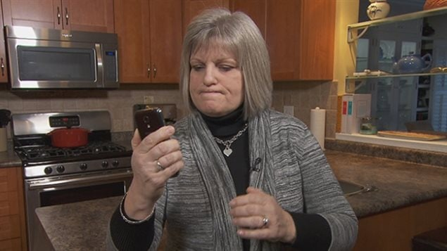 Nancy Hebert is one of many frustrated cellphone users who initially was unable to get satisfaction from her provider.
