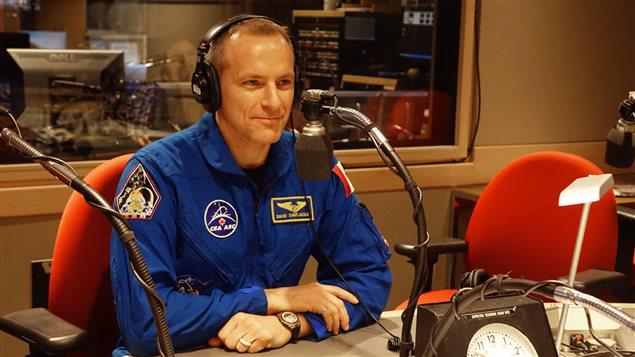 L'astrophysicien, astronaute et médecin David Saint-Jacques.