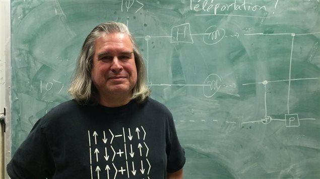 Gilles Brassard, cryptologue montréalais qui a contribué à jeter les bases de la cryptographie quantique.