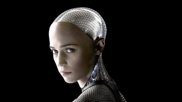 Alicia Vikander dans <em>Ex Machina</em>