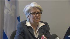 La députés de Taschereau, Agnès Maltais.