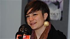 Patricia a rencontré Sarah Toussaint-Léveillée qui vient de lancer un 2e album.