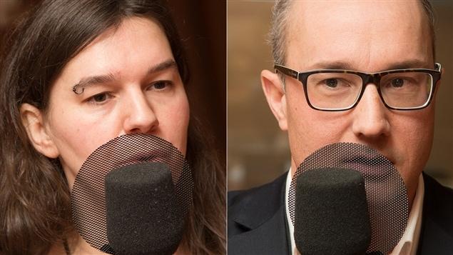 Eve-Lyne Couturier et Claude Breton