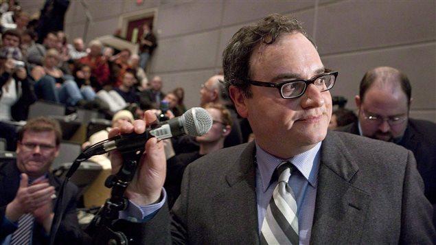 Ezra Levant, ancien commentateur politique de «Sun News» et propriétaire du site conservateur The Rebel