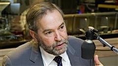le chef du NPD Thomas Mulcair pourra-t-il rester à la barre de son parti après les résultats décevants des dernières élections?