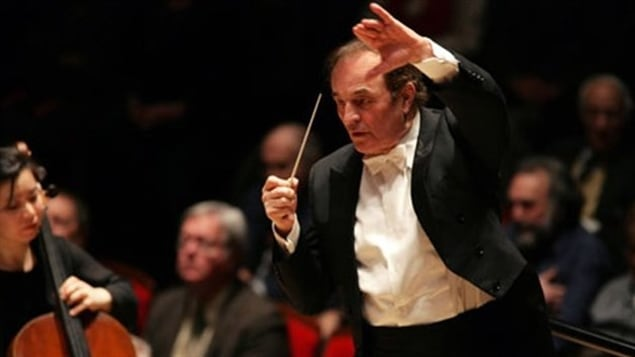 El ex director de la Orquesta Sinfónica de Montreal, Charles Dutoit.