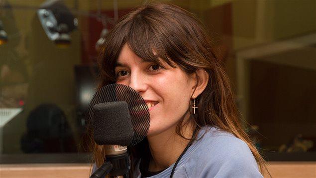 La chanteuse Lou Doillon