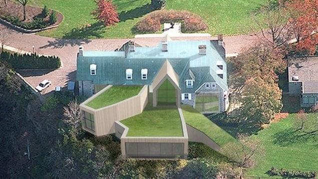 Le design du 24 Sussex réalisé par l'architecte Oliver Dang.