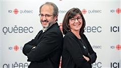 Antoine Robitaille, éditorialiste au Devoir et Marie Grégoire, associé chez Tact intelligence-conseil.