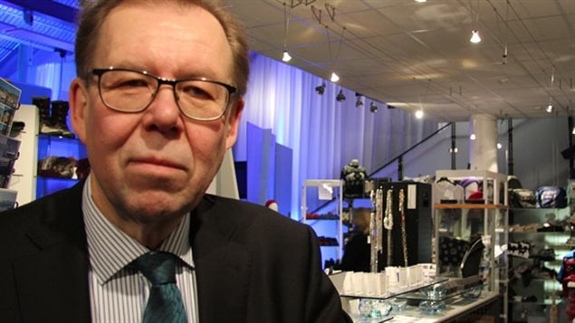 An indoors headshot of Timo Rautajoki from the Lapland Chamber of Commerce.