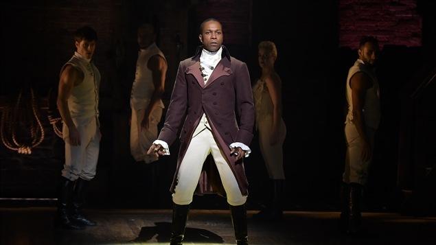 Leslie Odom Jr. dans <i>Hamilton</i> de Lin-Manuel Miranda