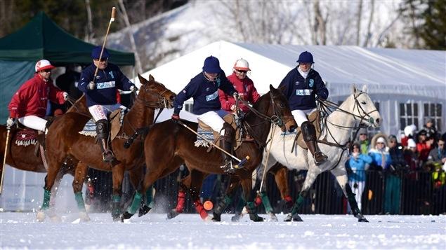 L'événement Polo sur neige Tremblant International en 2015