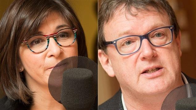 Marie Grégoire et Jacques Létourneau