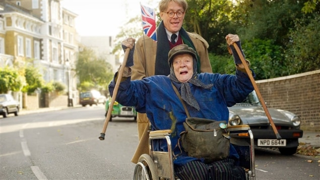 Alex Jennings et Maggie Smith dans <i>The Lady in the Van</i>, de Nicholas Hytner