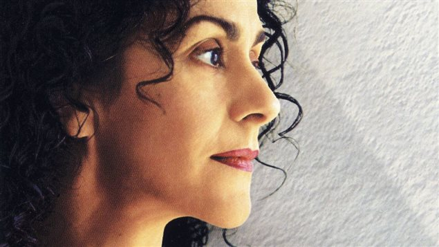La chanteuse et compositrice Ang�lique Ionatos