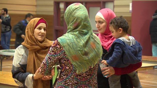 Des réfugiées syriennes au Canada