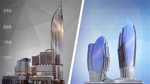 Deux villes, deux visions, des enjeux en commun et une même opposition