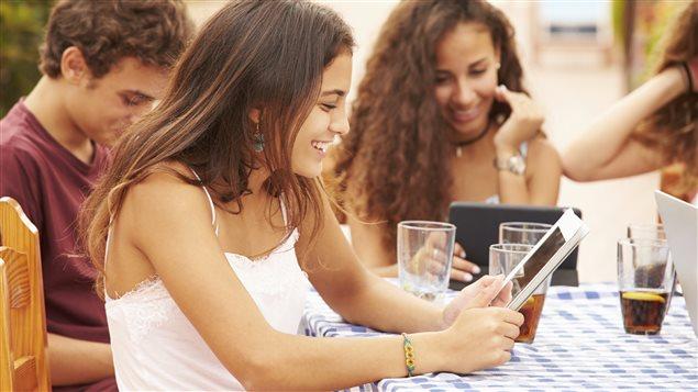 Les adolescents et la technologie