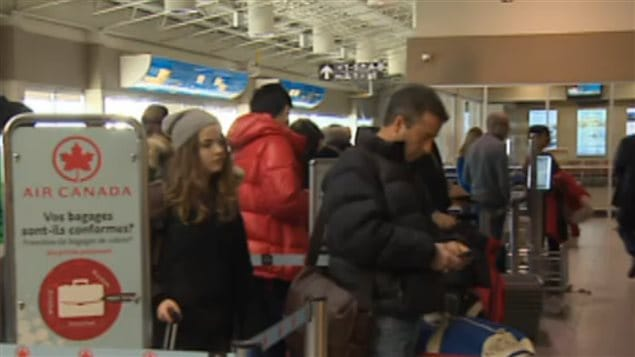 New security measures aim to screen airline passengers before they get on a plane to Canada.