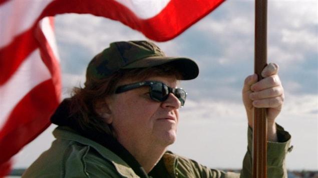 Michael Moore dans une scène de son nouveau documentaire, <i>Where to Invade Next</i>