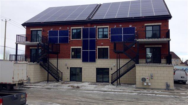 L'immeuble à condos certification «nette zéro» construit par les frères Voyer