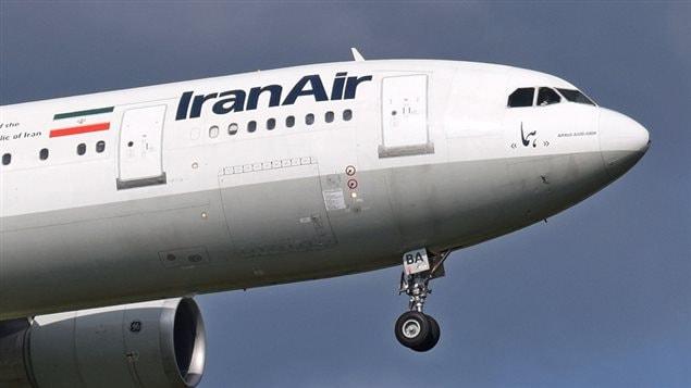 L'Iran souhaiterait que les avions des compagnies aériennes iraniennes, comme cet appareil d'Iran Air, puissent se poser au Canada.  Photo :  Wikipedia/Adrian Pingstone