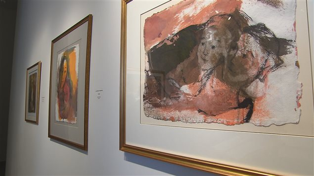 Les oeuvres de Léonard Parent, dit Basque, sont exposées à l'UQAR.