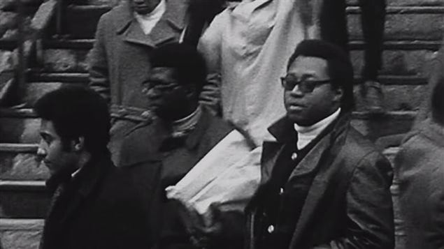 Documental Noveno Piso sobre el levantamiento de estudiantes negros en la Universidad Sir George Williams de Montreal en 1968.