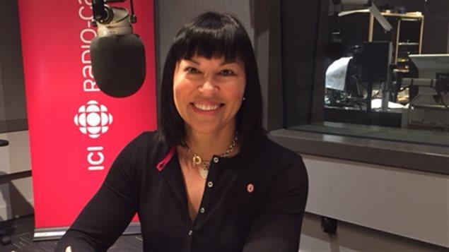 Chantal Petitclerc, chef de mission de la délégation canadienne des Jeux paralympiques de Rio.