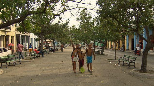 L'avenue Prado de Cienfuegos