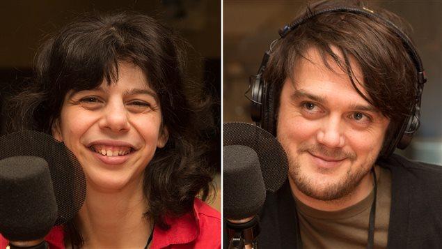 Gabrielle Marion-Rivard et Vincent-Guillaume Otis, les porte-parole de la Semaine québécoise de la déficience intellectuelle