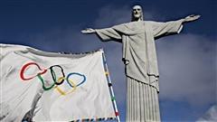 Le drapeau olympique � Rio