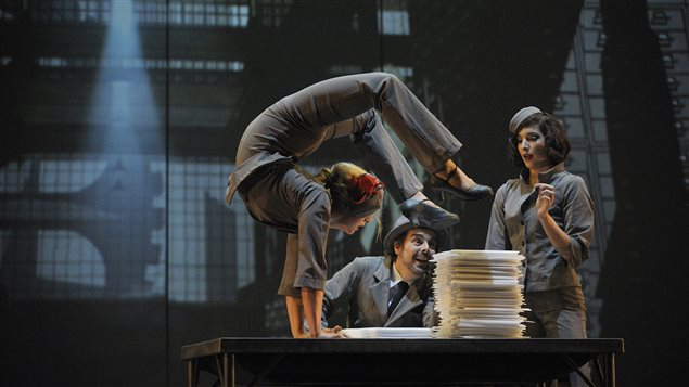 Le spectacle « Cirkopolis », du Cirque Éloize